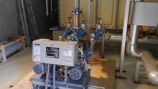 給水加圧ポンプ交換工事