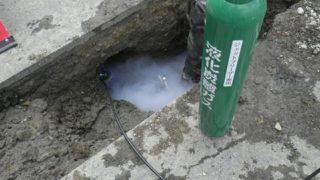 管路凍結装置