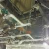 蒸気漏れ修理
